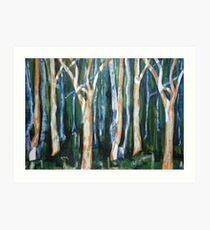 Woodlands Three Art Print