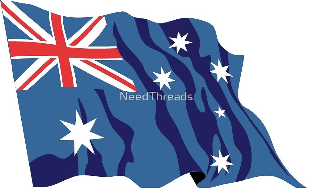 Australia Flag by NeedThreads