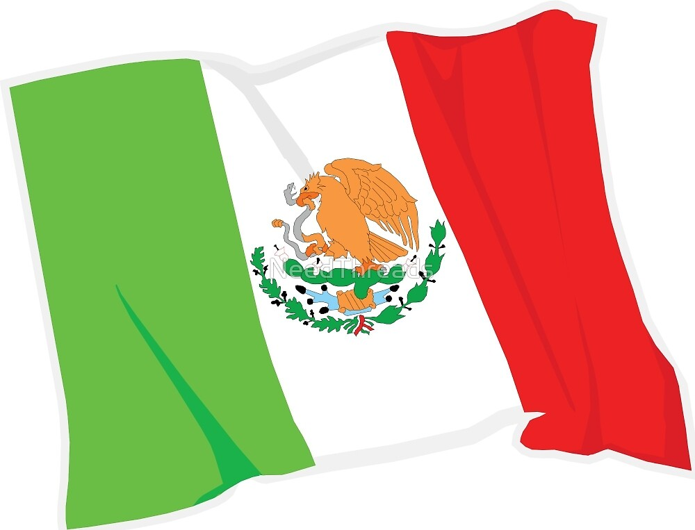 Mexico Flag by NeedThreads