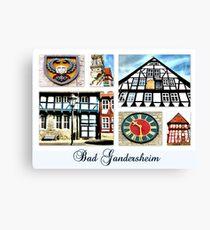 Bad Gandersheim Canvas Print