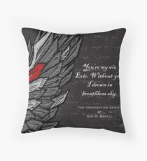 Breathless - The Premonition Series Throw Pillow
