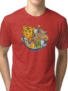 Animals Mix Nr. 1 Tri-blend T-Shirt