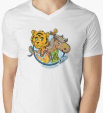 Animals Mix Nr. 1 Men's V-Neck T-Shirt