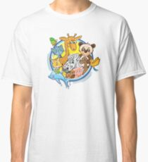 Animals Mix Nr. 2 Classic T-Shirt