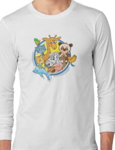 Animals Mix Nr. 2 Long Sleeve T-Shirt