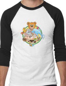 Animals Mix Nr. 3 Men's Baseball ¾ T-Shirt