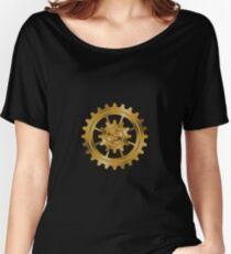 Golden Gears - Steampunk Women's Relaxed Fit T-Shirt