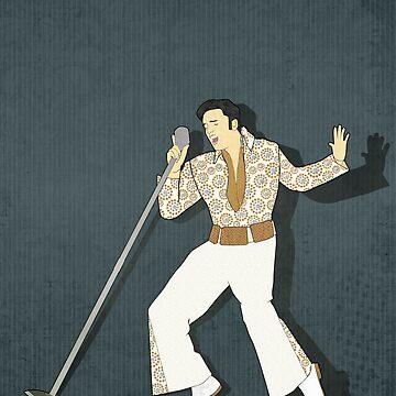 Elvis Presley Impersonator by janetcarlson
