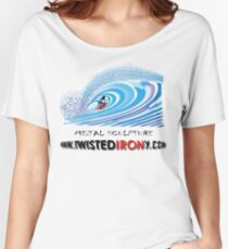 twisted IRONy untubed Women's Relaxed Fit T-Shirt