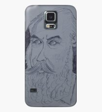 Johannes Brahms drawing Case/Skin for Samsung Galaxy