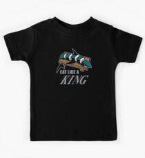 Eat Like a King (Dark) Kids Tee