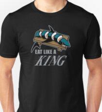 Eat Like a King (Dark) Slim Fit T-Shirt
