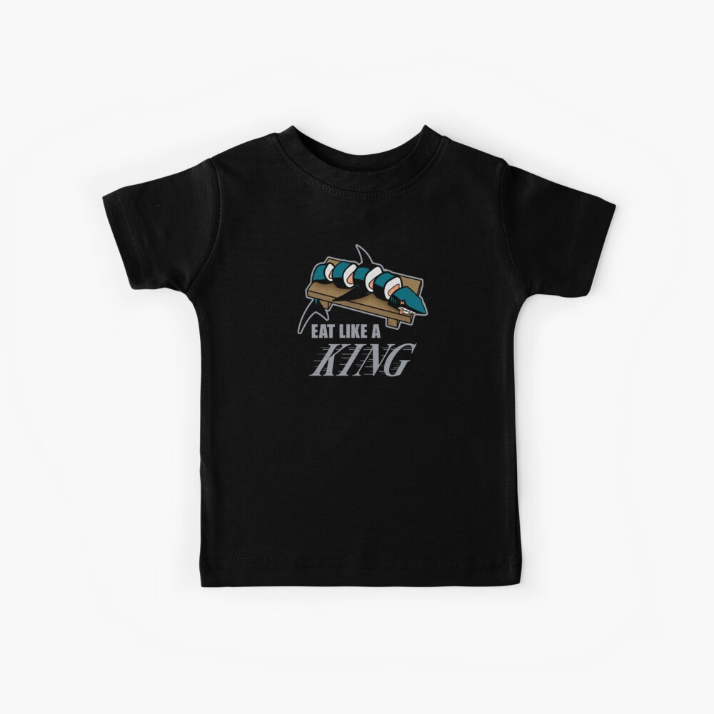 Eat Like a King (Dark) Kids T-Shirt