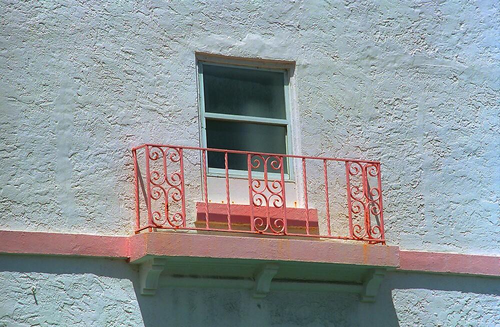 Miami Beach Balcony by Frank Romeo