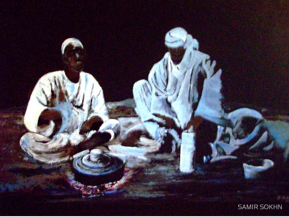 Nomade dinner for two by SAMIR SOKHN