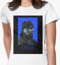 Omar  Women's Fitted T-Shirt