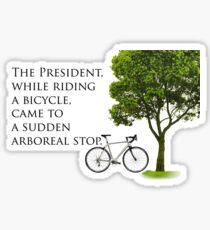 Sudden Arboreal Stop Sticker