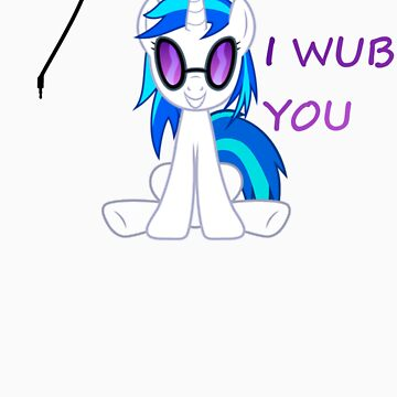 Vinyl Scratch Wubs You by SomeBronyArtist