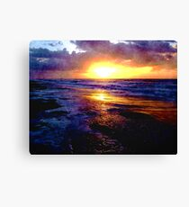 Atlantic Ocean Sunrise Canvas Print