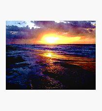 Atlantic Ocean Sunrise Photographic Print