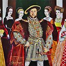 King Henry 8th and His Six Wives by Mike Paget