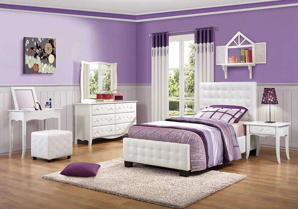 Homelegance Cinderella Bedroom Set - Homelegance Furniture Store ...