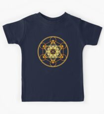 Metatrons Cube, Flower of life, Sacred Geometry Kids Clothes