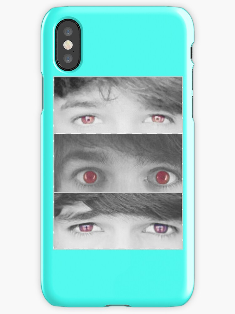 red eye iphone quot brent rivera quot iphone cases amp skins by mrbrentspanda 12843