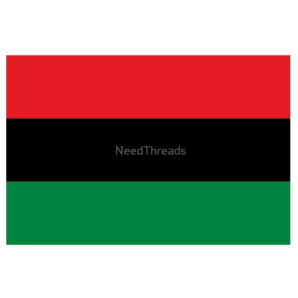 Afro-American Flag by NeedThreads
