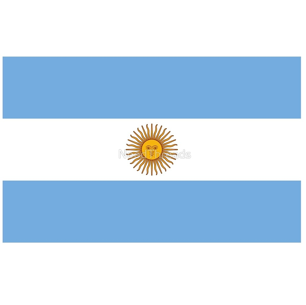 Argentina Flag by NeedThreads