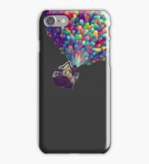 UP Balloons - Oil Style iPhone Case/Skin