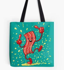 Bacon Dance Tote Bag