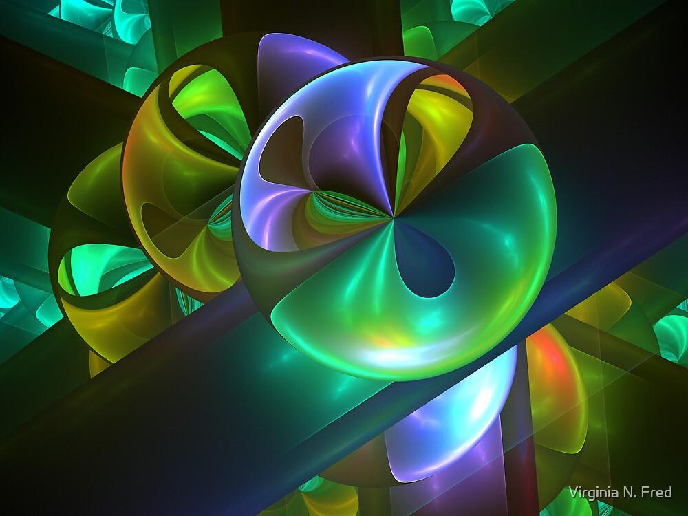 Linked Loonie by Virginia N. Fred