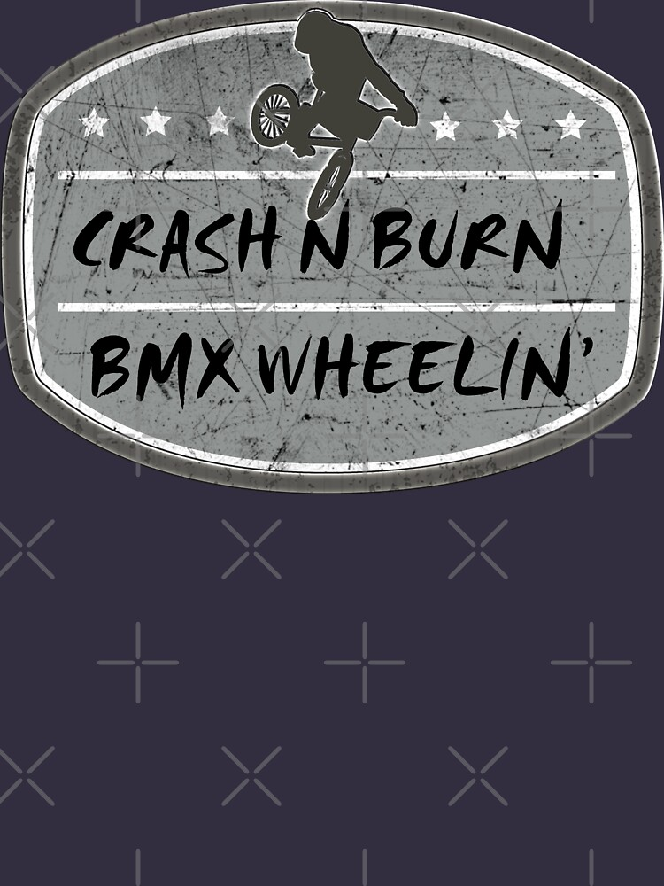 BMX Crash and Burn by SportsT-Shirts