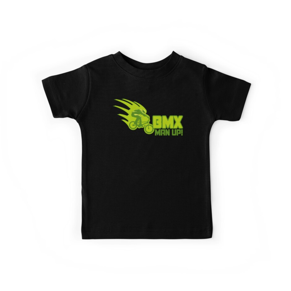 BMX Man Up Bike Cycling Bicycle  by SportsT-Shirts