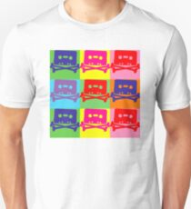 Pop Art Tape and Bones Unisex T-Shirt