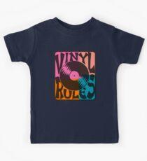 Vinyl Records Rule Pop Art Kids Clothes