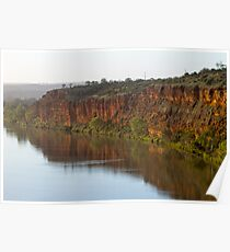 Murray River S.A Cliffs Poster