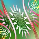 Flower Swirl by Pam Amos
