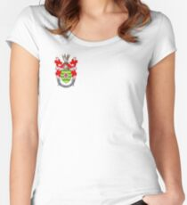 County Donegal Coat of Arms  Women's Fitted Scoop T-Shirt