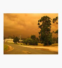 Fires in East Gippsland - February 2014 Photographic Print