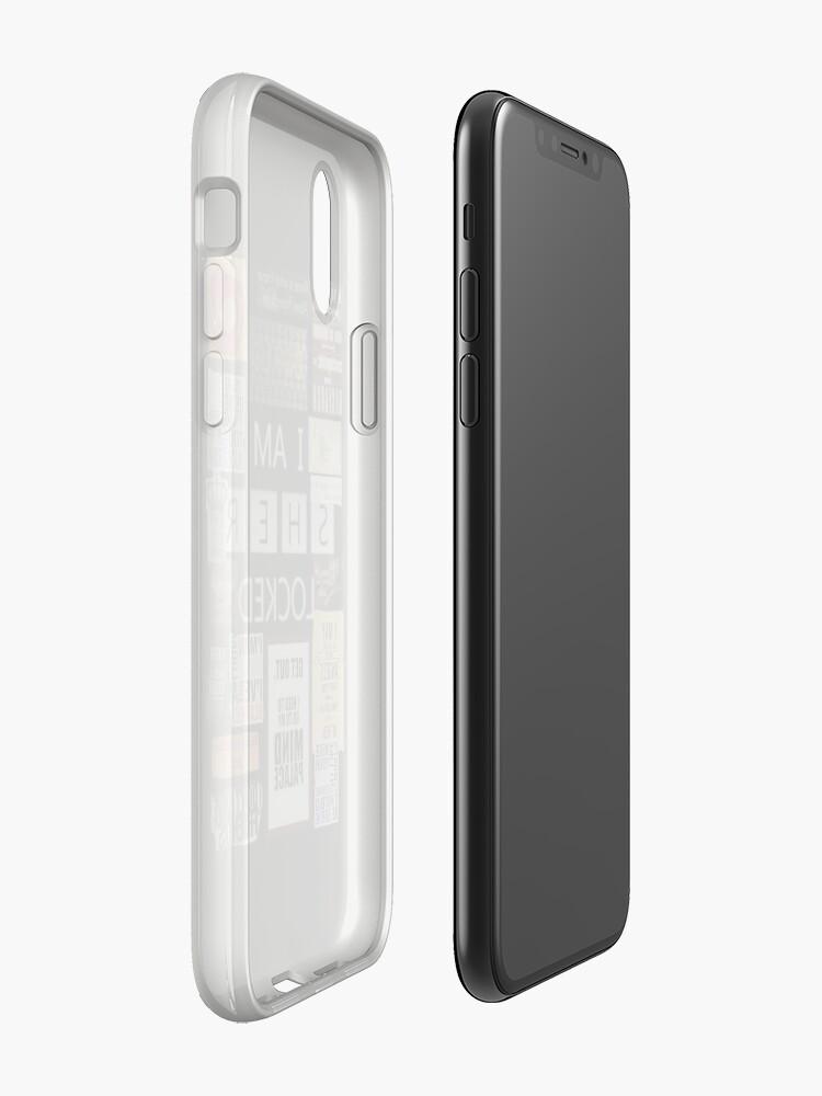 Alternative Ansicht von _S_H_E_R LOCKED iPhone-Hülle & Cover