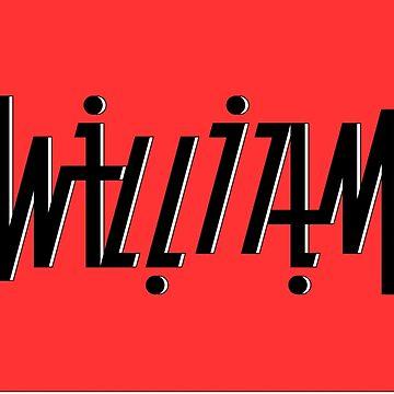 William ambigram by black-ink