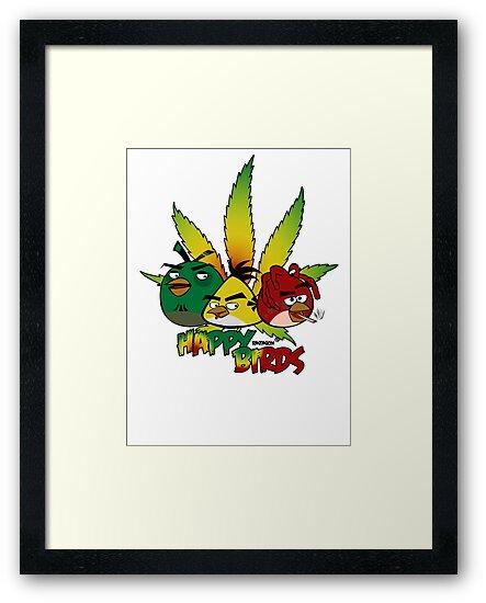 Happy Birds by rastaskin