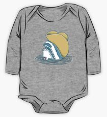 Funny Hat Shark One Piece - Long Sleeve