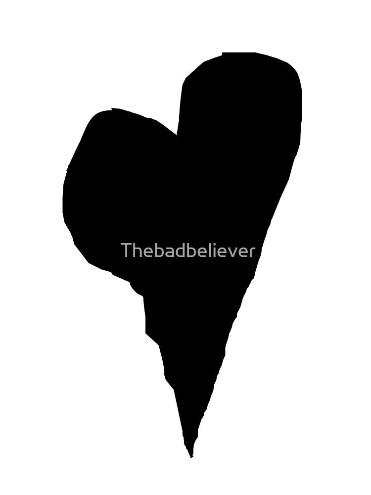 BLACK HEART by Thebadbeliever