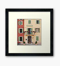 Trattoria Caprini Framed Print