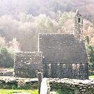 Glendalough Stone Building by Judi FitzPatrick