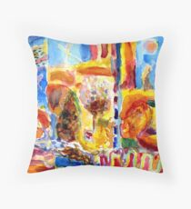 The Changing Of The Seasons Throw Pillow
