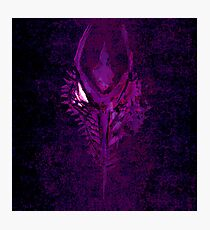 Ridley: Purple Facemelt Photographic Print